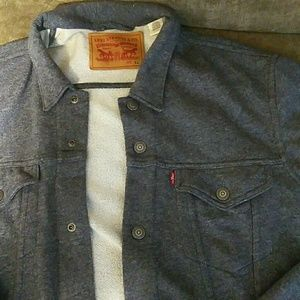 Levi's Jean Jacket Looking Sweatshirt